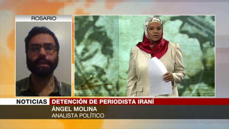 Molina: Presentadora de Press TV es un modelo disciplinador para EEUU