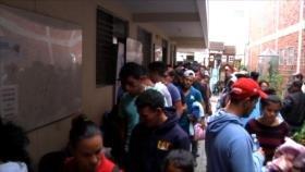 Cientos de hondureños pasan por Guatemala en un nuevo éxodo