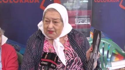 Hebe de Bonafini llama a mujeres a luchar por libertad de Hashemi