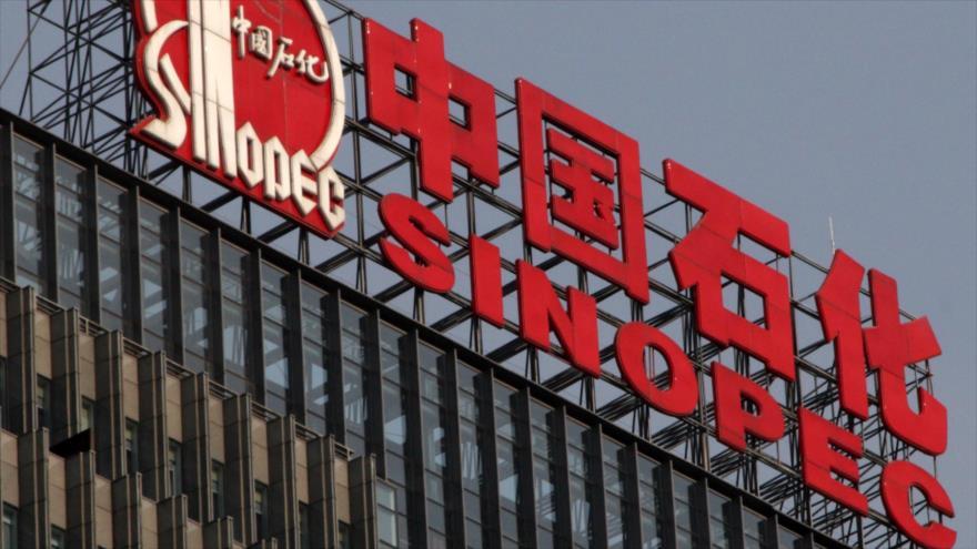 China Petroleum & Chemical Corporation (Sinopec), una de las empresas estatales más grandes de China.