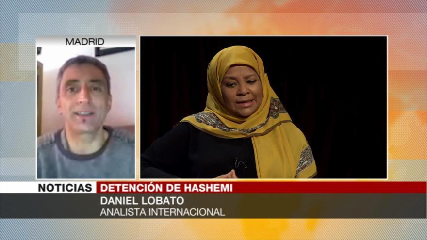 """Lobato: Hashemi """"conjuga todo lo que odia"""" la élite blanca de EEUU"""
