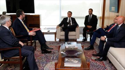 Bolsonaro recibe en Brasil a líderes de la oposición venezolana