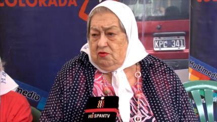 Madres de Plaza de Mayo respaldan al presidente Maduro