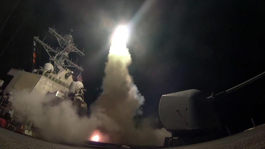 El lanzamiento de misiles Tomahawk por EE.UU.