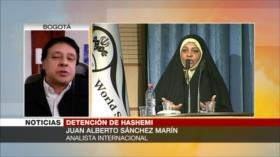 """Sánchez Marín: Hay """"confabulación"""" en EEUU para arrestar a Hashemi"""