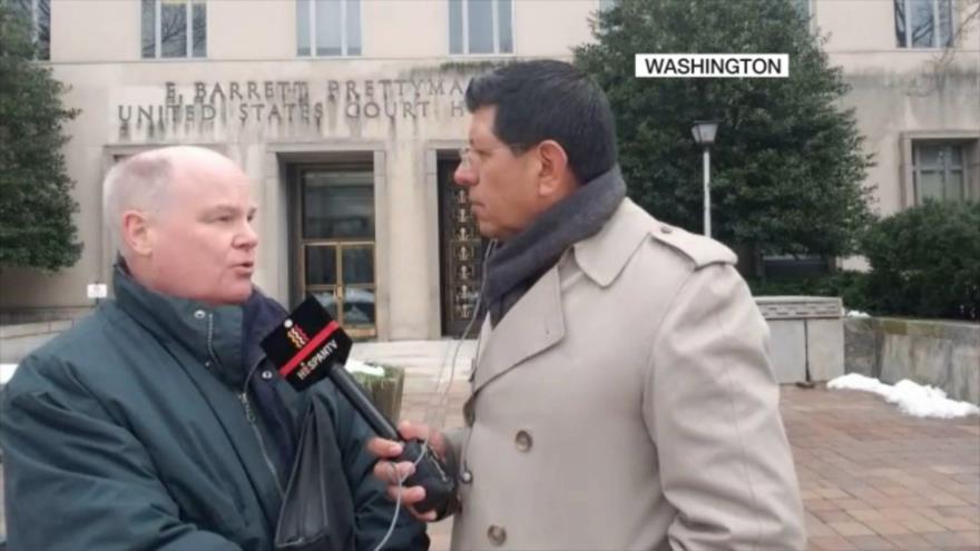 Wolf: Detención sin cargos de Hashemi en EEUU viola sus derechos