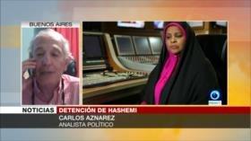 Aznarez: Detención de Hashemi es una provocación de EEUU