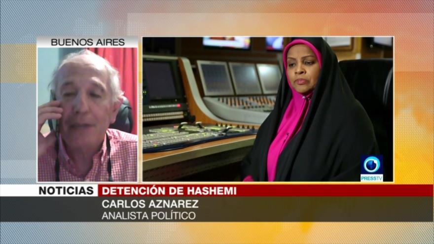Aznarez: Detención de Hashemi es una provocación de EEUU | HISPANTV