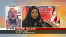 Silva: Hashemi es 'rehén' de EEUU para presionar a Irán