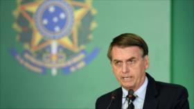 Bolsonaro acusa a Venezuela de dar cobijo a 'terroristas' del ELN