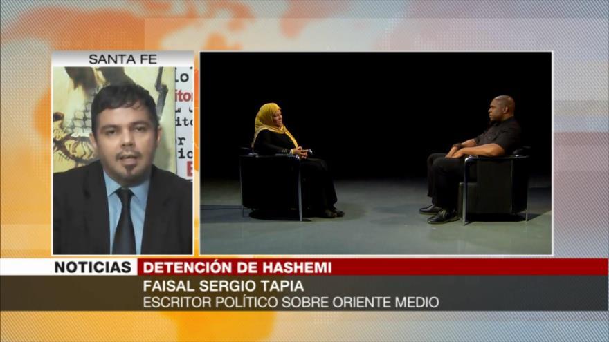 Sergio Tapia: Hashemi, voz de la verdad contra crímenes de EEUU