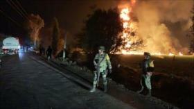 Explosión en toma clandestina de combustible en México