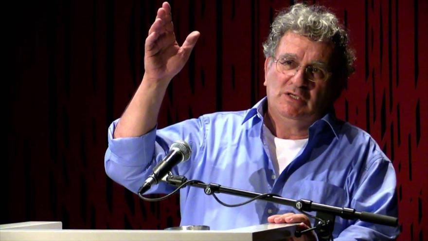 Benny Morris, historiador israelí de la Universidad de Ben Gurión.