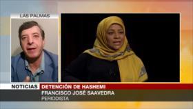 'EEUU se apoya en seguridad nacional para detener a Hashemi'