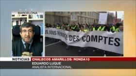 Luque: 'Chalecos amarillos' muestran que el pueblo está consciente