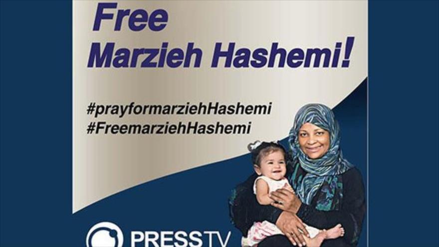 """Allegados de Hashemi exigen a EEUU su liberación """"inmediata"""""""