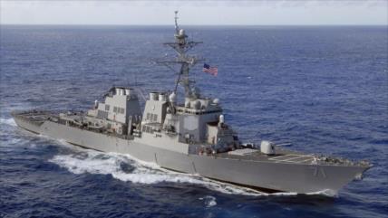 Rusia vigila a destructor de EEUU que entra en el mar Negro