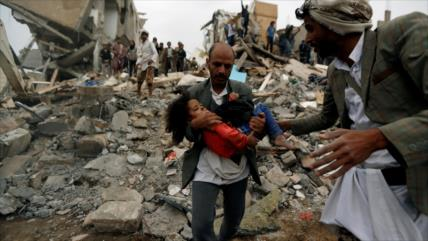 Arabia Saudí siembra muerte en la capital de Yemen