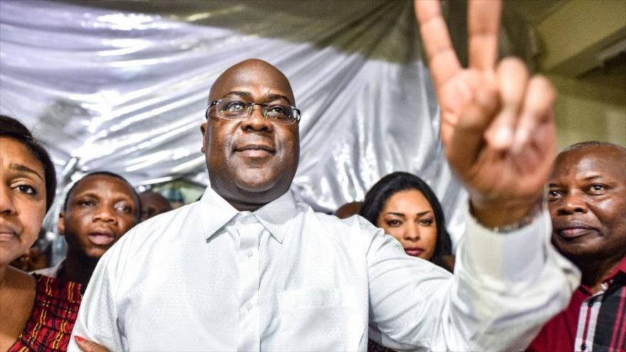 El presidente electo de la República Democrática del Congo (RDC), Félix Tshisekedi