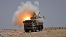 Defensa antiaérea siria repele un ataque israelí contra Damasco