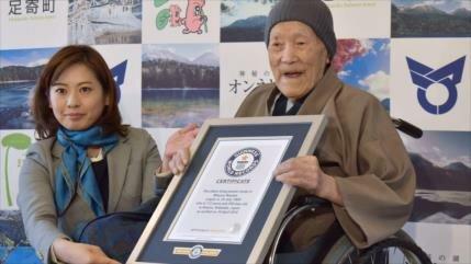 Muere el hombre más longevo del mundo