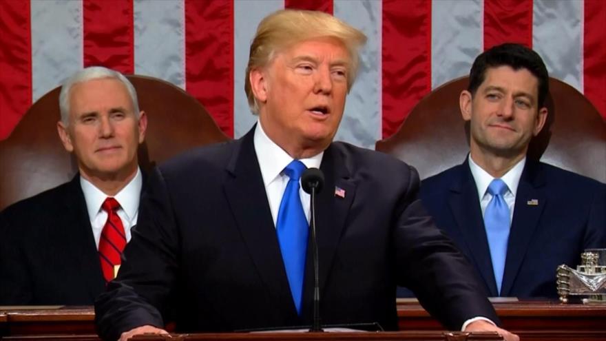 Trump inicia su tercer año en el poder sin respaldo del Congreso