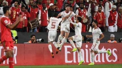 Irán se clasifica para cuartos de Copa Asiática al vencer a Omán