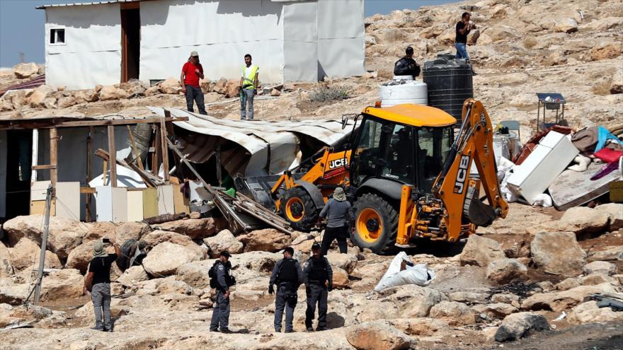 'Israel derribó 460 edificios palestinos en Cisjordania en 2018' | HISPANTV