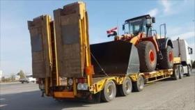 Siria rehabilita infraestructura dañada por terroristas en Al-Raqa