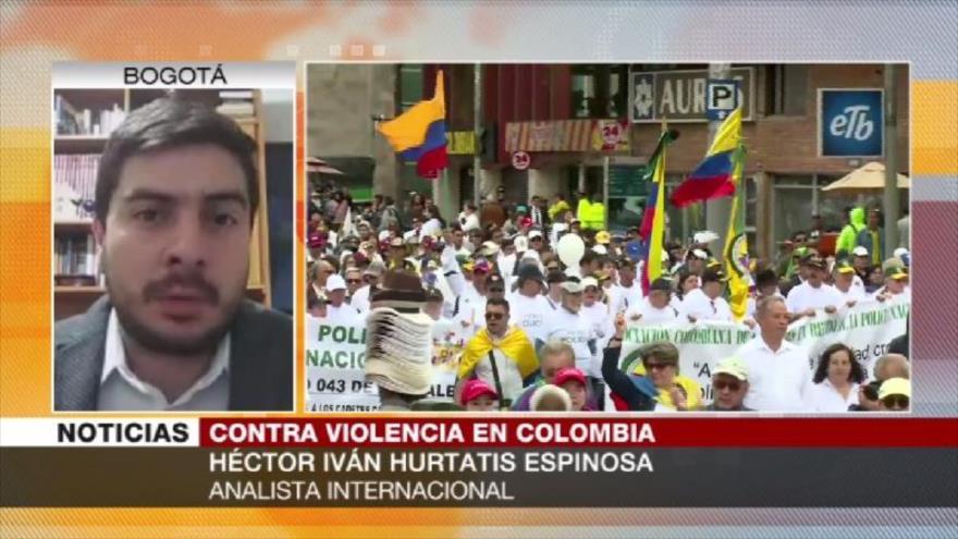Espinosa: Hay retroceso en tema de paz en Colombia de Duque