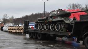 Rusia recibe 30 tanques soviéticos devueltos por Laos