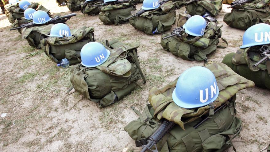 Equipamientos de los cascos azules de la ONU en Malí.