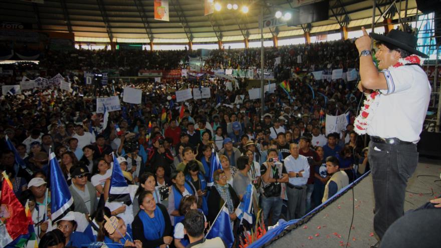 Morales pide dar un 'mazazo' a la oposición en las primarias   HISPANTV