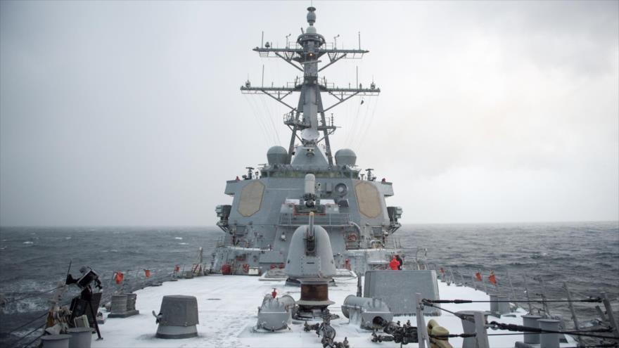 El destructor estadounidense USS Donald Cook.