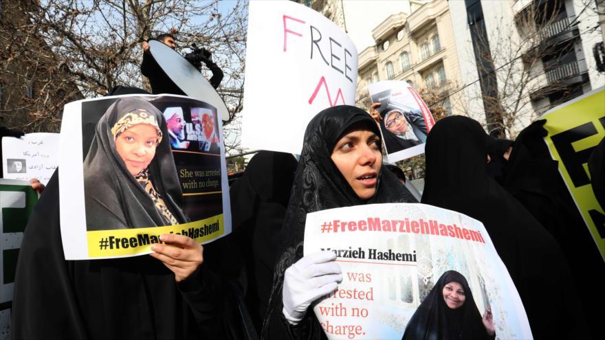 Convocan desde Irán una marcha en Nueva York en apoyo de Hashemi