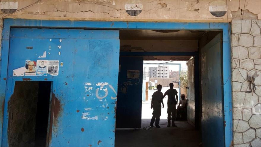 La Cárcel Central de Adén, bajo el control de las fuerzas leales a Arabia Saudí y el expresidente profugo, Abdu Rabu Mansur Hadi.