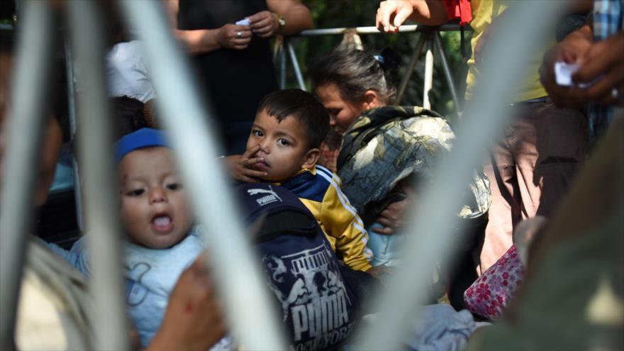Migrantes hondureños que se dirigen hacia EE.UU., Guatemala, 17 de enero de 2019. (Foto: AFP)