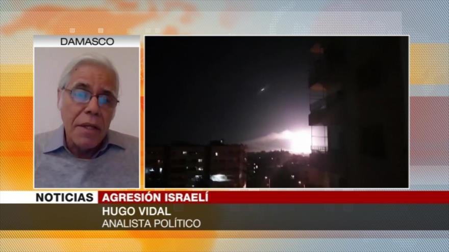 """Vidal: Israel """"juega con candela"""" al lanzar ataques contra Siria"""