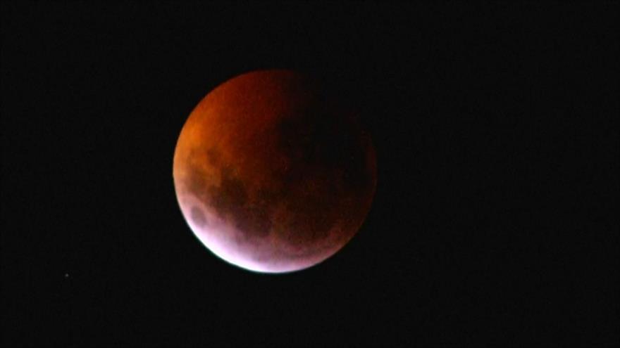 Superluna de sangre, primer fenómeno atmosférico de 2019 | HISPANTV