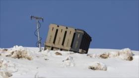 Israel tras atacar Siria despliega sistema antimisiles en Golán