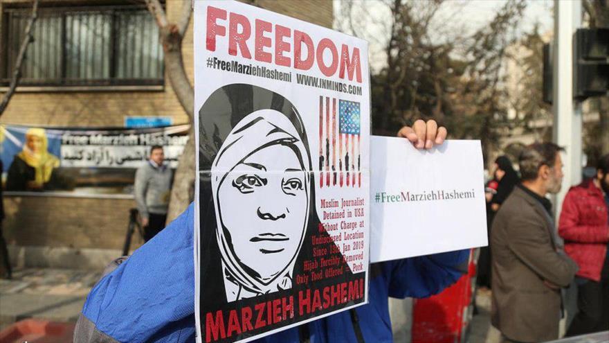 'Detención de Hashemi muestra que EEUU tiene doble moral sobre DDHH'
