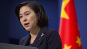 China llama a respetar soberanía de Siria tras ofensiva israelí