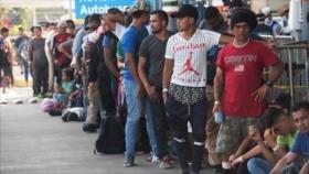 Más de 3000 migrantes centroamericanos arribaron a México