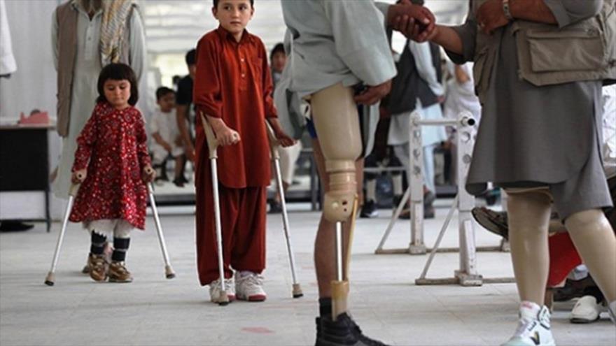 Niños afganos nacidos con defectos, resultado de invasión de EEUU