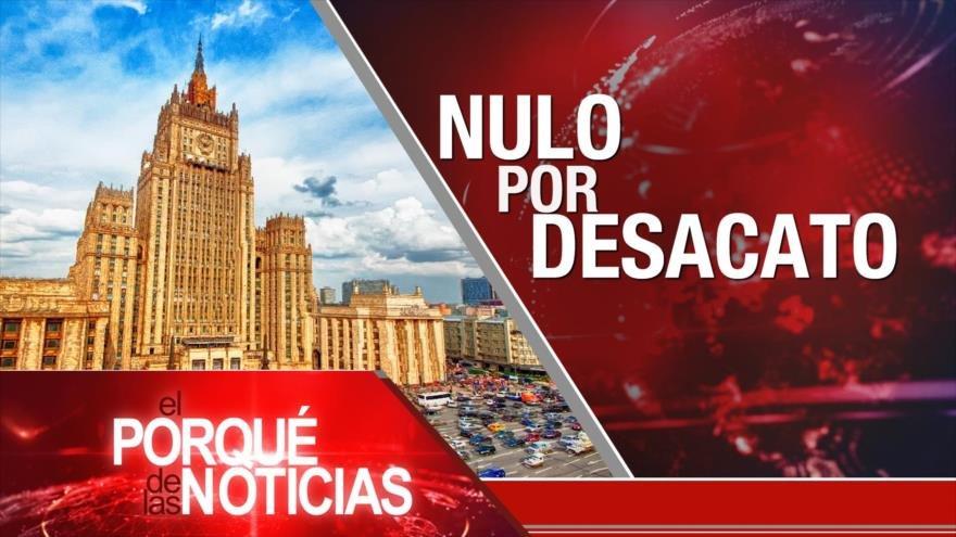 El Porqué de las Noticias: AN venezolana sin efecto. Detenida sin cargos. Plan B del Brexit