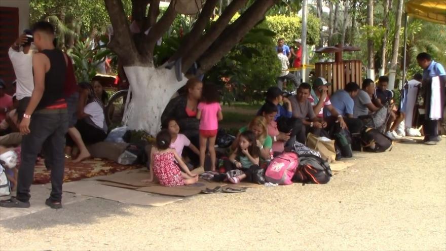 Más de mil migrantes rechazan visa humanitaria en México