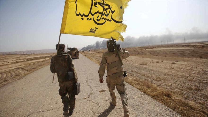 Hezbolá iraquí achaca sanciones de EEUU a fracaso de sus proyectos | HISPANTV