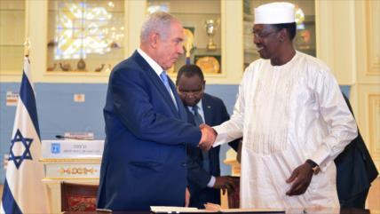 HAMAS tacha de 'puñalada por la espalda' lazos entre Chad e Israel