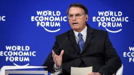 Bolsonaro en Davos: No queremos una 'América bolivariana'