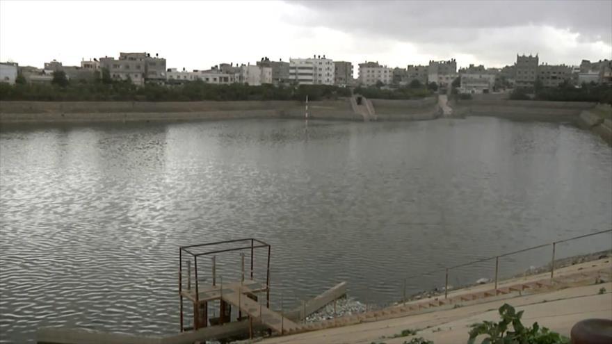 Contaminación del agua en la Franja de Gaza